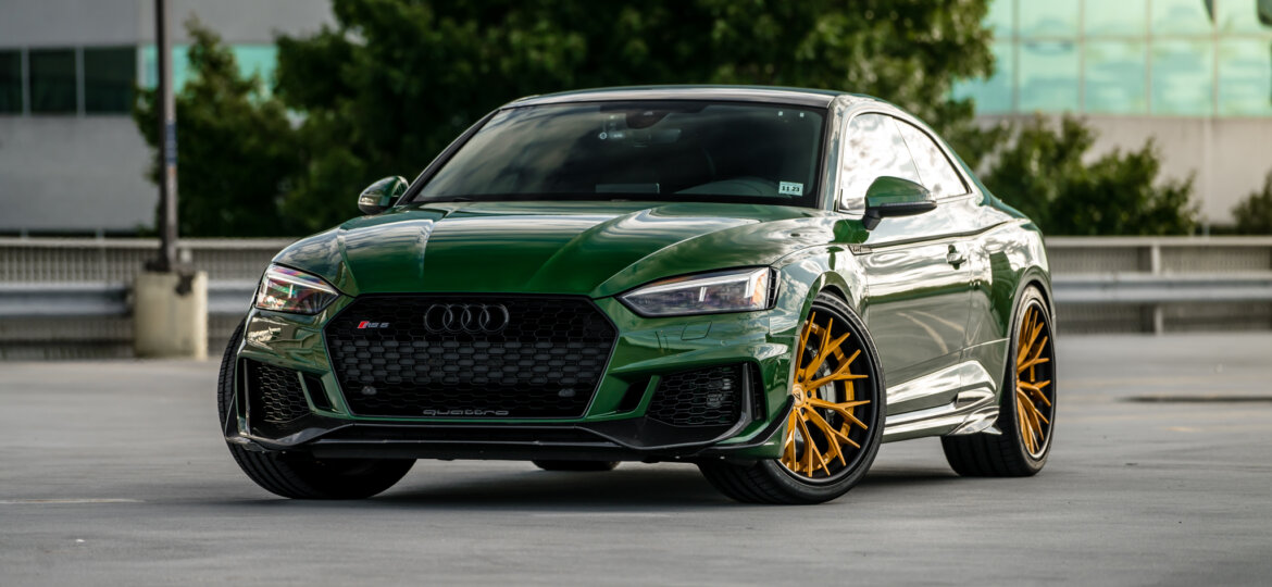 2019 Audi RS5 - USF04 3pc - Gold and Black (21)